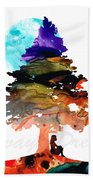 Always Dream - Inspirational Art By Sharon Cummings Beach Towel
