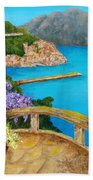 Amalfi Coast Beach Sheet