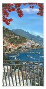 Amalfi Vista Beach Towel