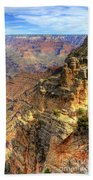 Amazing Colors Of The Grand Canyon  Beach Towel