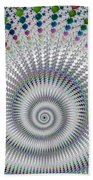 Amazing Fractal Spiral With Great Depth Beach Towel