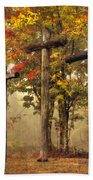 Amazing Grace Beach Towel by Debra and Dave Vanderlaan