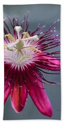 Amazing Passion Flower Beach Towel