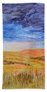 Amber Waves Of Grain Beach Towel