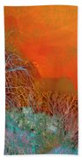 Amber Winter Beach Towel