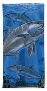 Amberjack In0029 Beach Towel