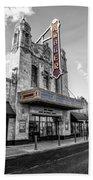 Ambler Theater In Ambler Pennsylvania Beach Towel