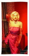 American Cinema Icons - Norma Jean Beach Towel