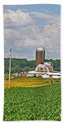 American Farmland 3 Beach Towel