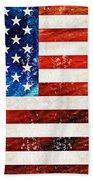 American Flag Art - Old Glory - By Sharon Cummings Beach Towel