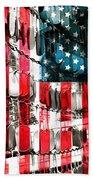American Heroes Beach Towel