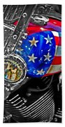 American Ride Beach Towel