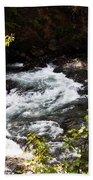 American River's Levels Beach Towel