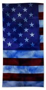 American Sky Beach Towel