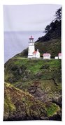 America's Favorite Lighthouse Beach Towel