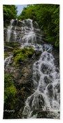 Amicola Falls Beach Towel