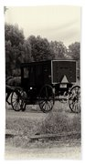 Amish Buggy Sept 2013 Beach Towel