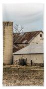 Amish Farm In Etheridge Tennessee Usa Beach Towel by Kathy Clark