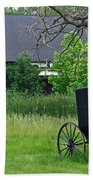Amish Way Of Life Beach Towel