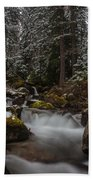 Amongst The Trees And Stones Beach Towel