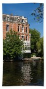 Amsterdam Canal Mansions - Floating By Beach Towel