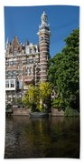 Amsterdam Canal Mansions - The Dainty Tower Beach Towel