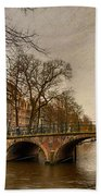 Amsterdam Panorama Beach Towel