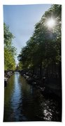 Amsterdam Spring - Green Sunny And Beautiful Beach Towel