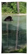 Bear In The Afternoon Beach Towel