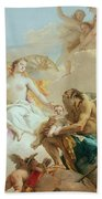 An Allegory With Venus And Time Beach Sheet