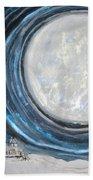 An Apparition Of The Moon  Beach Towel