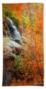 An Autumn Falls Beach Towel