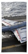 An Ea-6b Prowler Takes Beach Towel