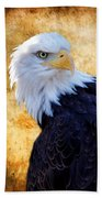 An Eagles Standpoint Beach Towel