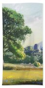 An Englishman's Castle Beach Towel