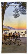 An Evening In Rovinj - Croatia Beach Towel