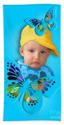 An Image Of A Photograph Of Your Child. - 06 Beach Towel