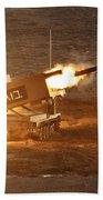 An Israel Defense Force Artillery Core Beach Towel