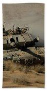 An Israel Defense Force Magach 7 Main Beach Towel