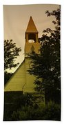 An Old Church Near Moxee Wa Beach Towel by Jeff Swan