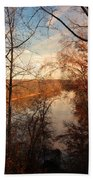 Anacostia River 6457 Beach Towel
