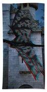 Anaglyph Dragon Beach Towel