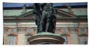 Anaglyph King Gustav Beach Towel