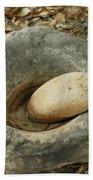 Anasazi Grinding Bowl Beach Towel
