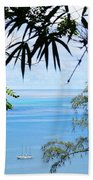 Anchorage In Paradise Beach Towel