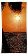 Anchored In Paradise Beach Towel