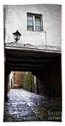 Ancient Alley In Tui Beach Towel