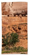 Ancient Anasazi Pueblo Canyon Dechelly Beach Towel