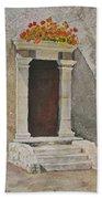 Ancient  Doorway  Beach Sheet