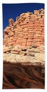 Ancient Pueblo Beach Towel